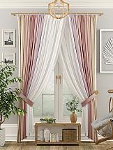Комплект штор ТомДом Лавиаль (ягодный) комплект штор томдом клайси ягодный