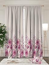 Комплект штор ТомДом Розарди (розовый) шторы для комнаты tomdom комплект штор агно розовый 260 см