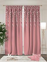 Комплект штор ТомДом Америн (розовый) шторы для комнаты tomdom комплект штор агно розовый 260 см