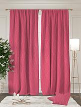 Комплект штор ТомДом Арния (розовый) шторы для комнаты tomdom комплект штор агно розовый 260 см