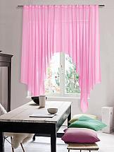 Тюль ТомДом Стим (розовый)