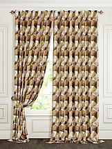 Комплект штор ТомДом Клаи (коричневый)