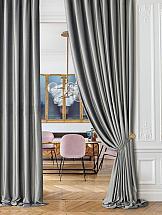 Комплект штор ТомДом Бруад (светло-серый) цена