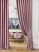 Фото - Комплект штор ТомДом Бруад (розово-фиолетовый) комплект штор томдом бруад синий