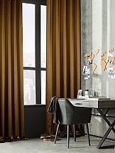 Комплект штор ТомДом Тафти (коричневый) комплект штор томдом пьерио коричневый