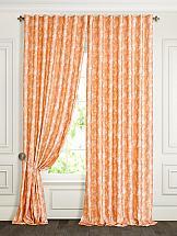 Комплект штор ТомДом Ликли (оранжевый) комплект штор тд текстиль шик на ленте цвет оранжевый высота 180 см 92528