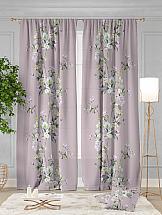 Комплект штор ТомДом Дарис (пастельная роза)