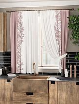 Комплект штор ТомДом Айпро (розовый) комплект штор томдом арихэл розовый