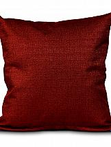 Наволочка ТомДом Рафна (бордовый) декоративные подушки tango декоративная наволочка emily 45х45