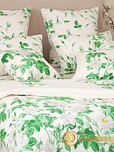 цена Постельное белье ТомДом Мальба (зеленый) онлайн в 2017 году