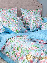 цена на Постельное белье ТомДом Окинава (голубой)