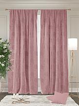 Комплект штор ТомДом Диалис (розовый)