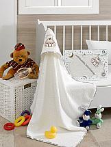 Фото - Полотенце ТомДом Менкиси (бело-серый) полотенце томдом форлис серый