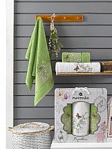 Комплект полотенец ТомДом Старсон (зеленый) комплект полотенец томдом старсон фиолетовый
