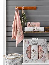 Комплект полотенец ТомДом Старсон (персиковый) комплект полотенец томдом старсон фиолетовый