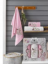 Комплект полотенец ТомДом Старсон (розовый) комплект полотенец томдом старсон фиолетовый