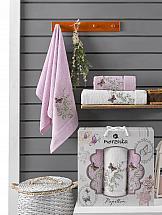 Комплект полотенец ТомДом Старсон (сиреневый) комплект полотенец томдом старсон фиолетовый