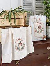 Полотенце ТомДом Ласанда (кремовый) полотенце томдом ласанда розовый