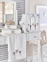 Комплект полотенец ТомДом Бушфил (кремовый) комплект полотенец томдом бушфил голубой
