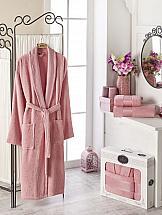 Халат ТомДом Фелита XL (розовый) халат женский primavelle l xl сoral