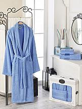 Халат ТомДом Фелита XL (голубой) халат женский amo la vita цвет голубой хмх0204 размер 50