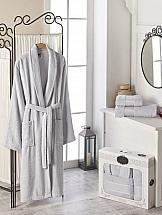 Фото - Халат ТомДом Фелита XL (серый) веломайка мужская dare 2b equal jersey цвет серый dmt462 5pl размер xl 56