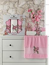 Комплект полотенец ТомДом Симпо (розовый)