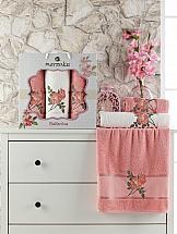 Комплект полотенец ТомДом Симпо (персиковый)