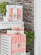 Комплект полотенец ТомДом Тафири (оранжевый)