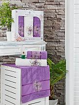 Комплект полотенец ТомДом Тафири (фиолетовый)
