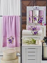 Комплект полотенец ТомДом Гарбит (сиреневый)