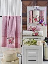 Комплект полотенец ТомДом Гарбит (светло-розовый)