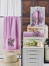 Комплект полотенец ТомДом Тумера (сиреневый)