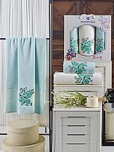 Фото - Комплект полотенец ТомДом Эмхис (мятный) набор полотенец karna devon цвет зеленый 50 х 90 см 70 х 140 см 2 шт
