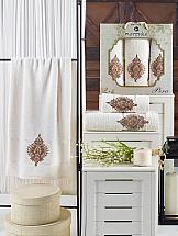Комплект полотенец ТомДом Дидворд (кремовый)
