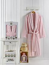 цена Халат ТомДом Руаса XXL (розовый) онлайн в 2017 году