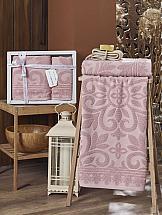 Комплект полотенец ТомДом Барсиол (светло-розовый) цена и фото