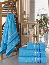 Комплект полотенец ТомДом Селами (бирюзовый)