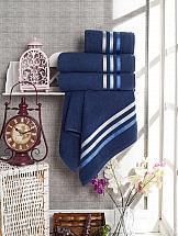 Комплект полотенец ТомДом Селами (синий) комплект полотенец томдом смиволия синий