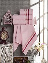 Комплект полотенец ТомДом Селами (розовый)