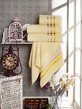 Комплект полотенец ТомДом Селами (желтый) полотенце для ванной wess unbeaujour цвет желтый бордовый 70 х 140 см