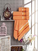 Комплект полотенец ТомДом Селами (персиковый) комплект для купания фея цвет персиковый 2 предмета