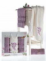Фото - Комплект полотенец ТомДом Эмсит набор полотенец karna devon цвет зеленый 50 х 90 см 70 х 140 см 2 шт