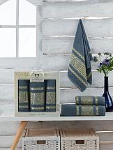 Комплект полотенец ТомДом Амфос (темно-серый)