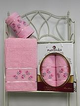 Комплект полотенец ТомДом Галеви (светло-розовый) цена и фото