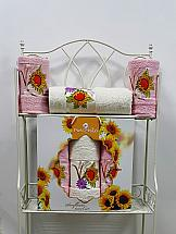 Комплект полотенец ТомДом Гермея (светло-розовый) комплект полотенец томдом гермея пудра