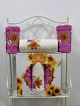 Комплект полотенец ТомДом Гермея (светло-лиловый) комплект полотенец томдом гермея пудра