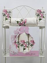 Комплект полотенец ТомДом Фитиас (кремовый) комплект емкостей для продуктов giaretti браво цвет кремовый 900 мл 3 шт