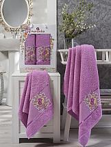Комплект полотенец ТомДом Миперо (светло-лиловый) полотенца soavita полотенце chloe цвет светло лиловый 30х70 см 3 шт