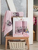 Комплект полотенец ТомДом Гурмия (светло-лиловый) туфли для девочки тотто цвет светло лиловый 2731 кп размер 31